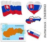 set of different symbols in... | Shutterstock .eps vector #156838463