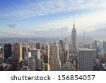 Stock photo beautiful view of new york city 156854057