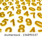 background of numbers. from... | Shutterstock . vector #156890147