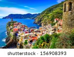 Scenic View Of Colorful Villag...