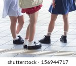 legs of the girls | Shutterstock . vector #156944717