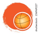 illustration of basketball ... | Shutterstock .eps vector #156969227