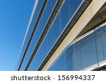 office buildings with modern... | Shutterstock . vector #156994337