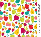 children's seamless pattern... | Shutterstock .eps vector #156996143