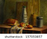 still life illustration with...