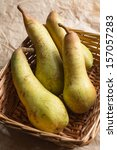 Small photo of Abate Pears in basket