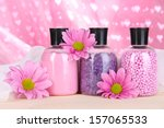 aromatherapy minerals  ... | Shutterstock . vector #157065533