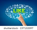 i like | Shutterstock . vector #157132097
