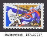 france   circa 2002  a postage... | Shutterstock . vector #157137737