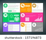 infographic template vector...
