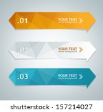 vector colorful text box ... | Shutterstock .eps vector #157214027