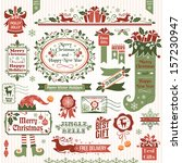 banner,border,celebration,christmas,christmas socks,congratulation,december,decor,decoration,decorative,design,divider,element,elf,emblem