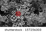 Background Image With Gears An...