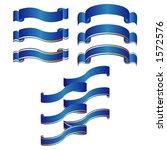 ornamental ribbons | Shutterstock .eps vector #1572576