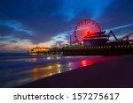 Santa Monica California Sunset...