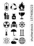 various symbols group vector... | Shutterstock .eps vector #157408223