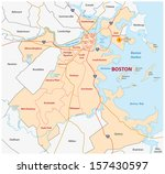 boston administrative map