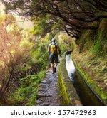 hike in madeira | Shutterstock . vector #157472963