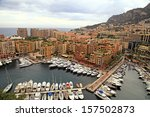 panoramic landscape with... | Shutterstock . vector #157502873