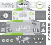 ecology information graphic | Shutterstock .eps vector #157603697