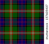 Clan Donald Tartan Plaid Pattern Seamless Design