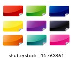 rectangle icons jpeg  please... | Shutterstock . vector #15763861