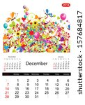 Floral Calendar 2014  December