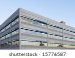 an office building with a empty ... | Shutterstock . vector #15776587