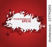 grunge background. vector... | Shutterstock .eps vector #157793303