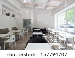 new and clean luxury restaurant ... | Shutterstock . vector #157794707
