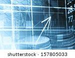 finance data concept | Shutterstock . vector #157805033