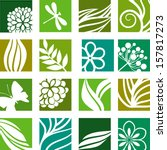 nature icons | Shutterstock .eps vector #157817273