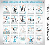 MEGA COLLECTIONS OF TEN MODERN ORIGAMI BUSINESS ICON MAN STYLE OPTIONS BANNER 3   Shutterstock vector #157820483