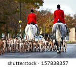 Hunt Master   Hounds In The...