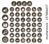 seo icon set  vector...