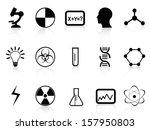 black science symbols | Shutterstock .eps vector #157950803
