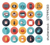 Modern Flat Icons Vector Set...
