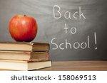 back to school | Shutterstock . vector #158069513