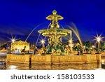 Fountain At Place De La Concor...