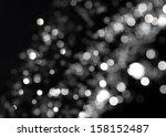 Bokeh Lights On Black...