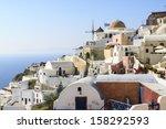 greece  santorini   Shutterstock . vector #158292593