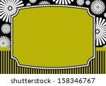 floral invitation card  ...   Shutterstock .eps vector #158346767