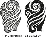 art,black,body,cult,curl,decoration,design,ethnic,fashion,folk,henna,illustration,image,maori,motif