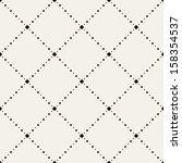 vector seamless pattern. modern ... | Shutterstock .eps vector #158354537