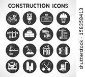 preto,construção,botão,ícone de botão,carrinho,engenharia civil,concreto,construção,ícone da construção,guindaste,projecto,desenho,broca,engenheiro,equipamento