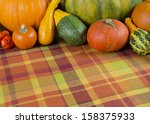 fall composition background... | Shutterstock . vector #158375933