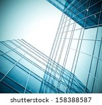 panoramic and perspective wide... | Shutterstock . vector #158388587