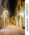 Narrow Old Street In Valletta...