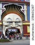 melbourne  australia  ... | Shutterstock . vector #158601287