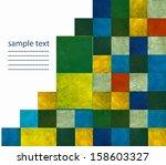 geometric earthy background... | Shutterstock . vector #158603327